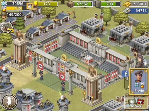 Onlinespiele Pocket platoons für das Smartphone