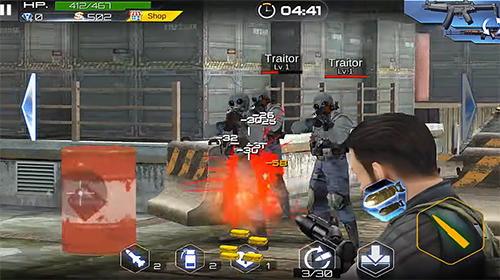 Blazing sniper: Elite killer shoot hunter strike für Android
