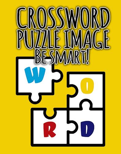 Crossword puzzle image: Be smart! Screenshot