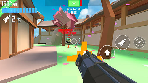Shooter Rocket shock 3D: Alpha auf Deutsch