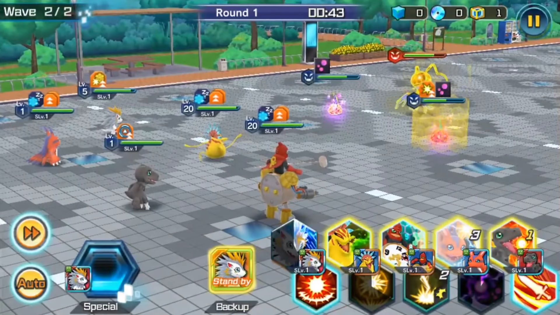 DIGIMON ReArise para Android