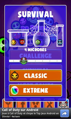 Arcade Doctor Bubble Halloween for smartphone