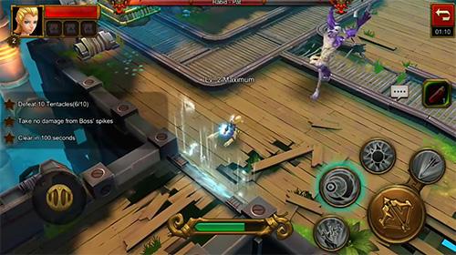 RPG-Spiele Guardians: A torchlight game für das Smartphone
