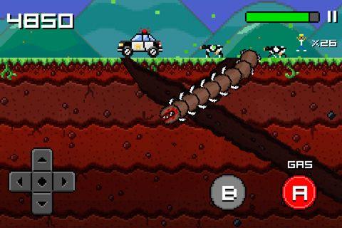 Screenshot Super Mega Wurm auf dem iPhone