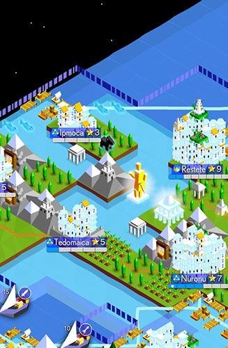 The battle of Polytopia für Android