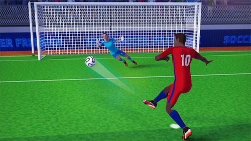 Sports games Freekick champion: Soccer world cup for smartphone