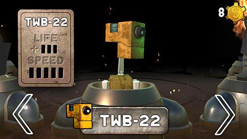 Arcade-Spiele Kuadribot für das Smartphone
