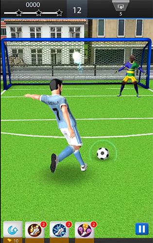 Sport David Villa pro soccer für das Smartphone