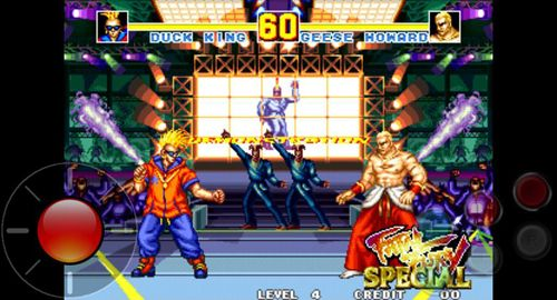 Fighting games Fatal fury: Special in English