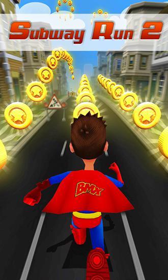 Subway superhero run 2 icône