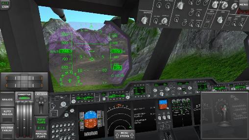 Turboprop flight simulator 3D для Android