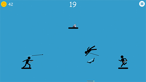 スティックマンが登場するゲーム The spearman の日本語版