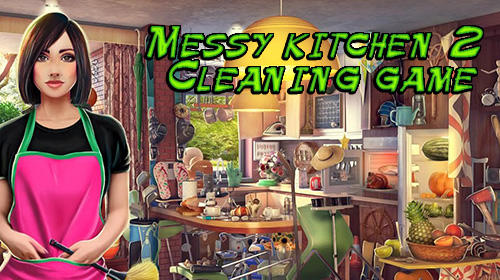 Hidden objects. Messy kitchen 2: Cleaning game screenshot 1