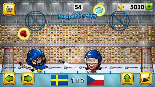 Arcade Puppet ice hockey 2014 für das Smartphone