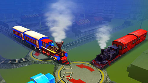 Simulation Train station conductor 3D pour smartphone