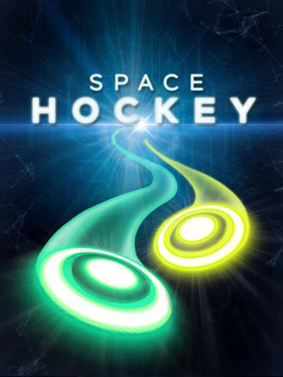 Glow air space hockey Symbol