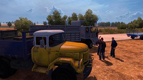 Simulation Truck driver simulation: Cargo transport für das Smartphone