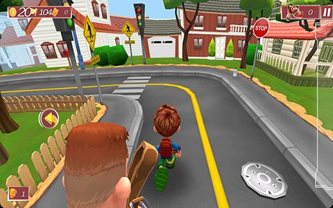 The Scooty: Run bully run pour Android
