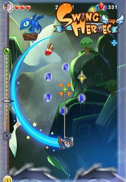 Arcade-Spiele: Lade Schwing dich auf Held auf dein Handy herunter