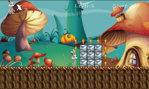 Juegos de arcade Bunny run by Roll games para teléfono inteligente