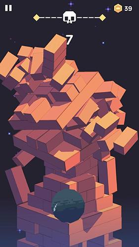 Arcade-Spiele: Lade Blockschneider auf dein Handy herunter