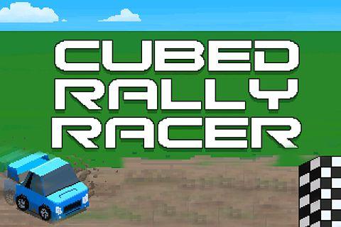 logo Corredor de rally cubico