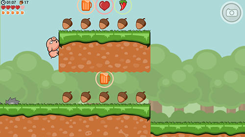 Crisp bacon: Run pig run для Android