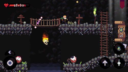 Undergrave: Pixel roguelike captura de pantalla 1