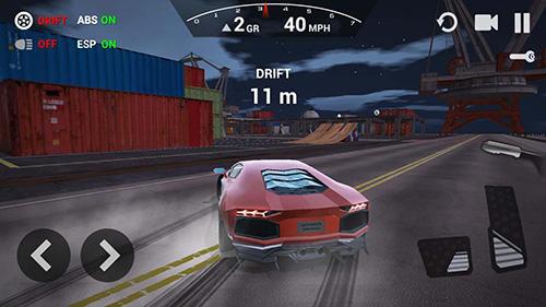 Rennspiele Ultimate car driving simulator für das Smartphone