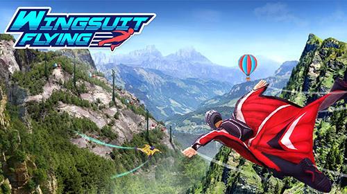 Wingsuit flying Screenshot