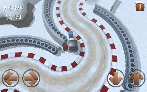 Winter racing: 4x4 jeep für Android