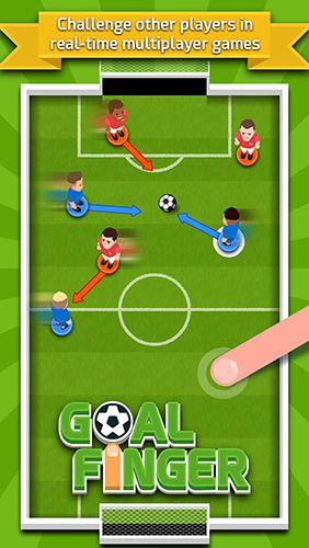 Аркады игры: скачать Goal finger на телефон