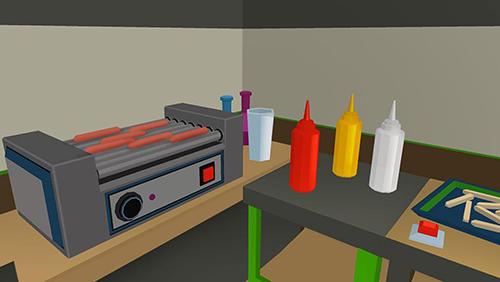Arcade-Spiele Burger chef: Cooking sim 2 für das Smartphone