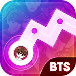アイコン K-pop dancing songs: Music line free game
