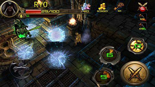 Сazador de las mazmorras: Ninja asesino para iPhone