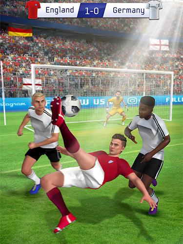 Soccer star 2019: Ultimate hero. The soccer game! auf Deutsch