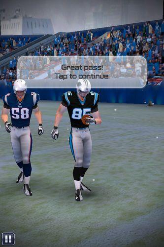 Screenshot NFL: Quarterback 15 auf dem iPhone