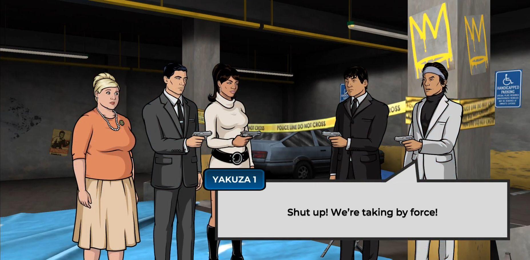 Archer: Danger Phone скриншот 1