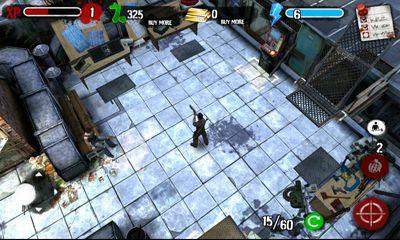 Zombie HQ capture d'écran 1