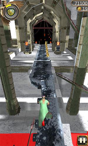 Snow temple run screenshot 4