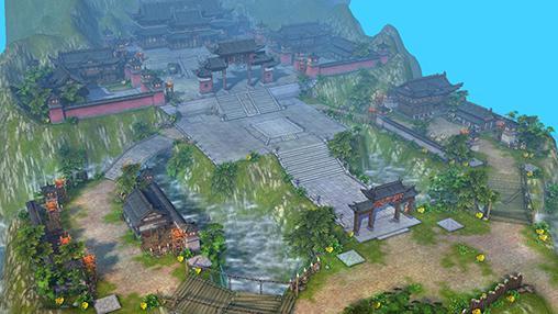 Strategie RPG Chaos legends. East legends auf Deutsch