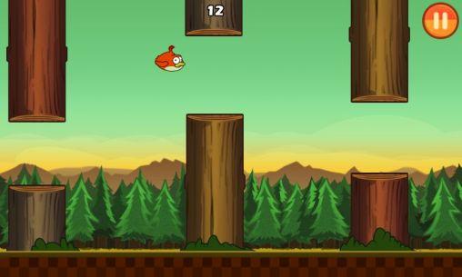 Arcades Clumsy bird pour smartphone