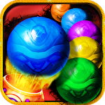 Bubble marbles shooter puzzle图标