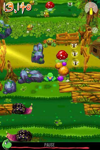 Скриншот Приключения лягушонка на Айфон