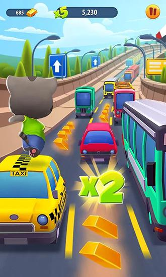 Talking Tom: Gold run for Android