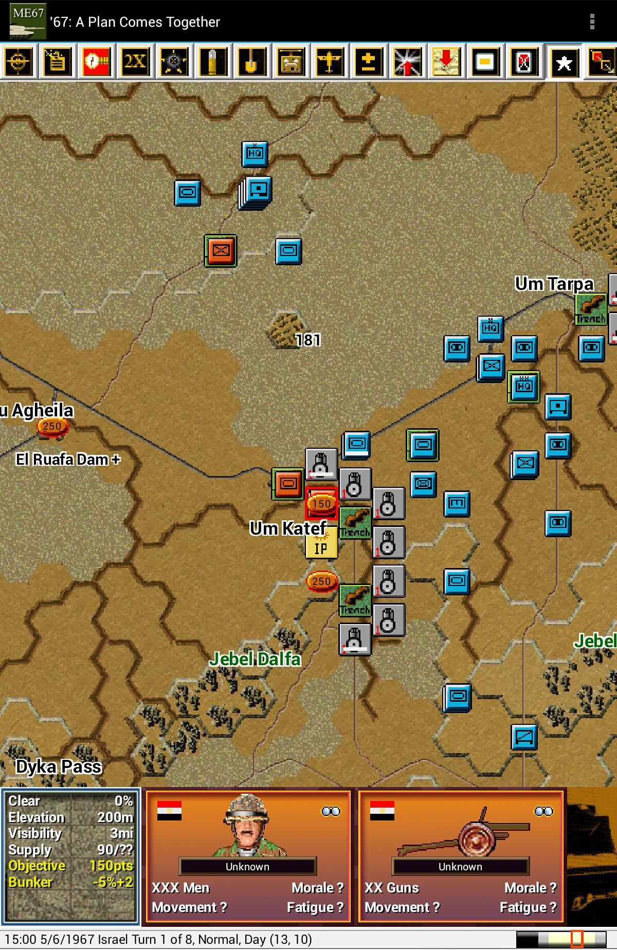 Modern Campaigns - Mideast '67 для Android