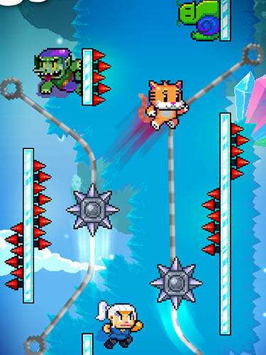 Arcade-Spiele: Lade Mauer-Kicker auf dein Handy herunter