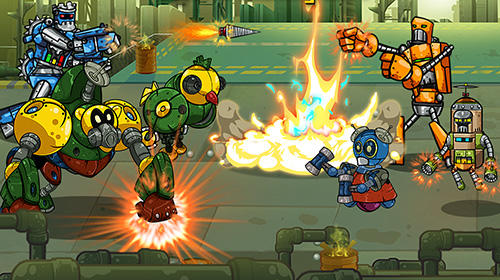 Robot evolved: Clash mobile für Android