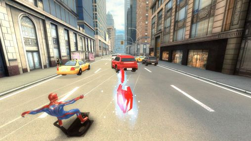 Android Action für VERTEX: The amazing Spider-man 2