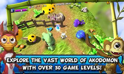 Action RPG Akodomon auf Deutsch